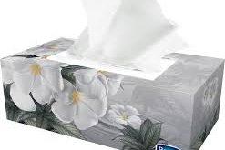 دستمال کاغذی جعبه ای