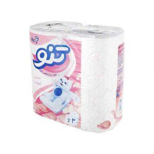 دستمال کاغذی توالت تنو